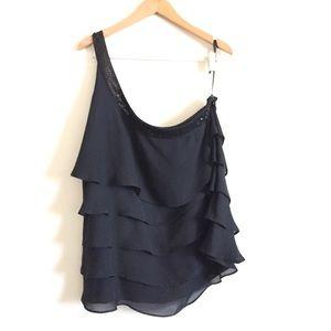 ❤️ Lane Bryant One Shoulder Blouse Size 20